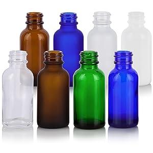 Boston Round Dropper Bottle