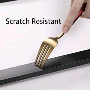 Scratch resistant