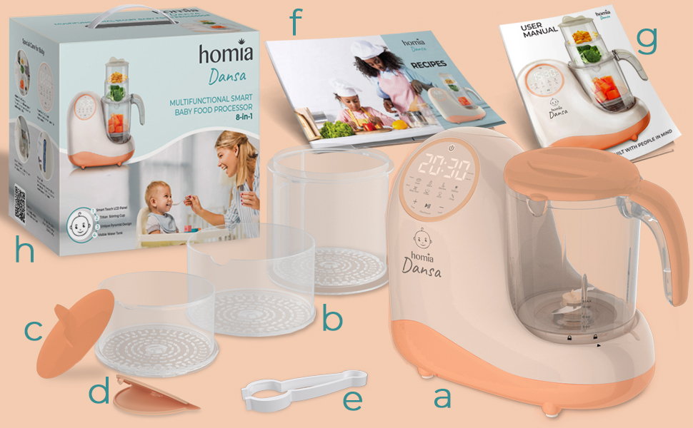 homia dansa baby food processor