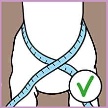 Anti pulling harness for pet walking