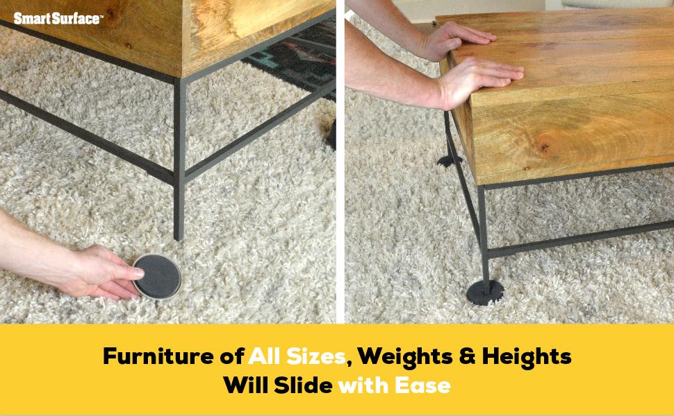 move heavy furniture