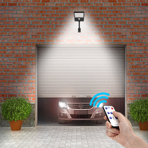 remote control solar lights outdoor led