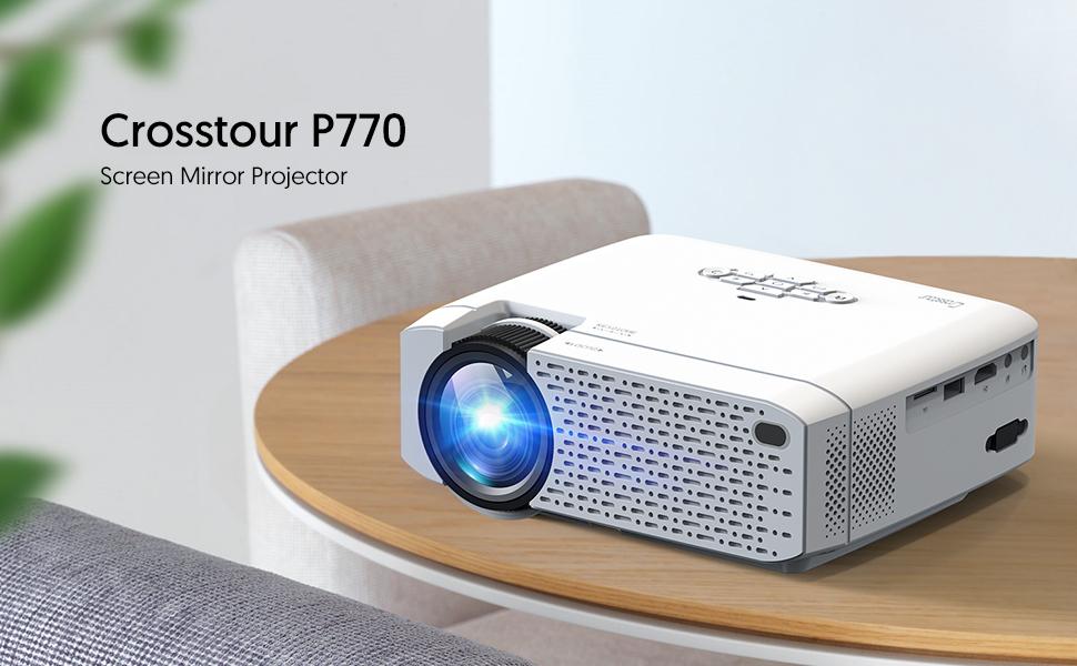 Mini Proyector Portátil Crosstour Soporte Full HD 1080P ...