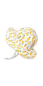 yellow pineapple sun hat