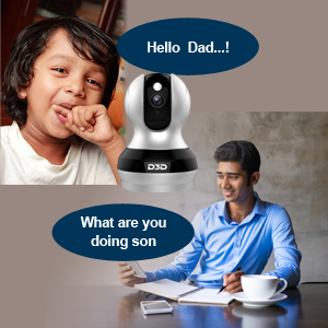 F1362B Home Security Ip Camera Two Way Audio