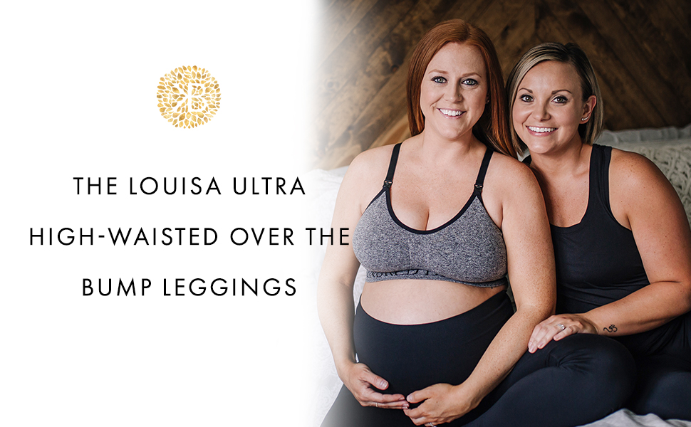 The Louisa ultra high-waisted over the bump legging