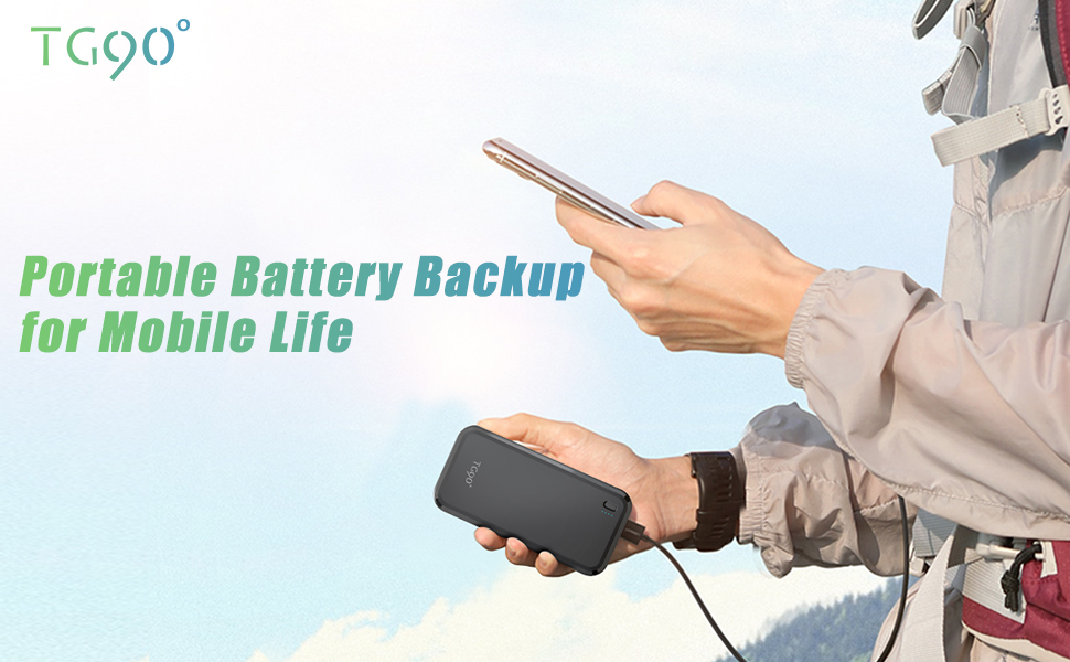 iphone battery charger portable