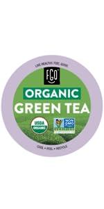 Organic Green Tea Pod