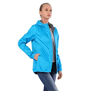 Women's Waterproof Rain Jackets