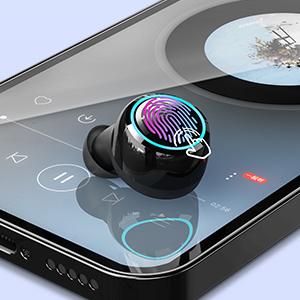 wireless earbuds wireless headphone wireless bluetooth earbuds bluetooth headphone mircrophone sport