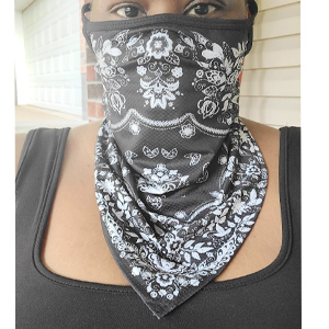 Face Mask Reusable Washable Cloth Bandanas Women Men Neck Gaiter Cover Ear Loops neck gaiters scarfs