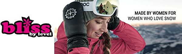 Bliss Women's Ski Gloves and Mittens - by LEVEL
