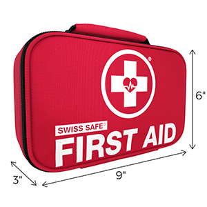 First Aid Kit Dimensions 3x6x9