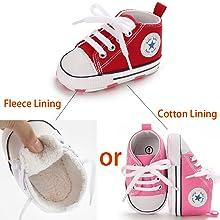 baby Plus fleece shoes