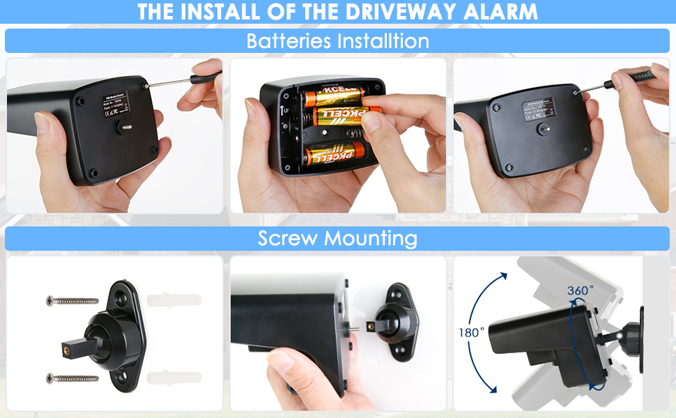 driveway sensor alarm
