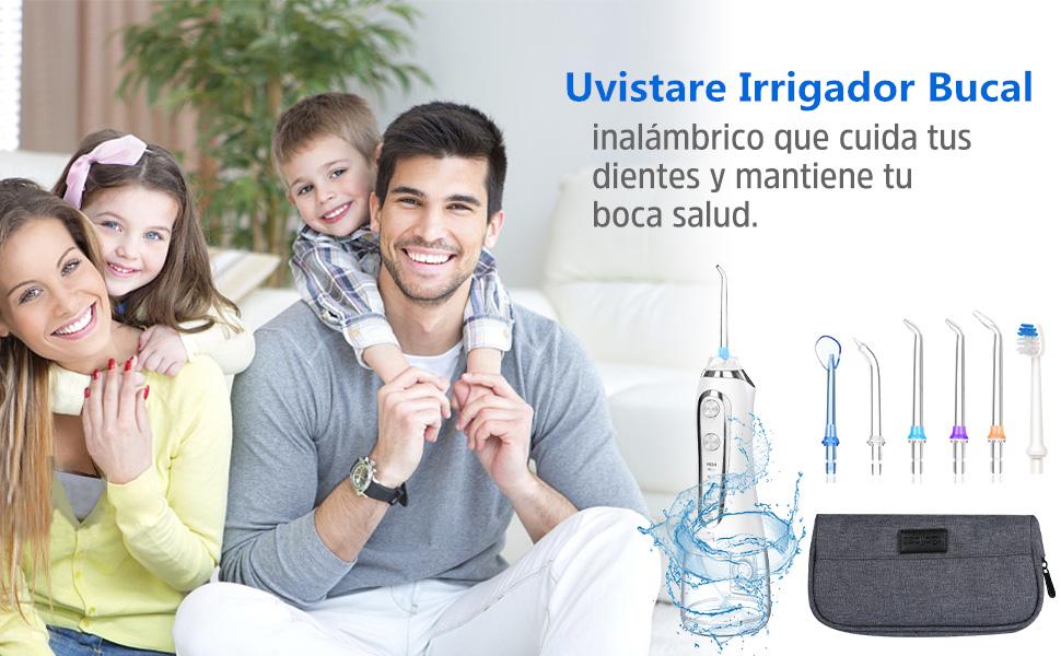 Uvistare Irrigador dental para toda la familia en viaje