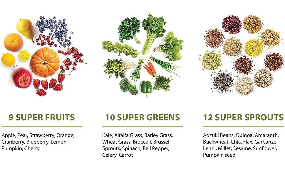 USDA Certified ingredients