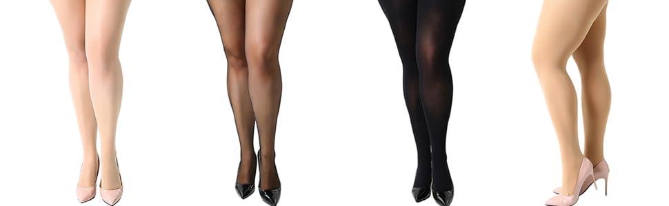 plus size tights women