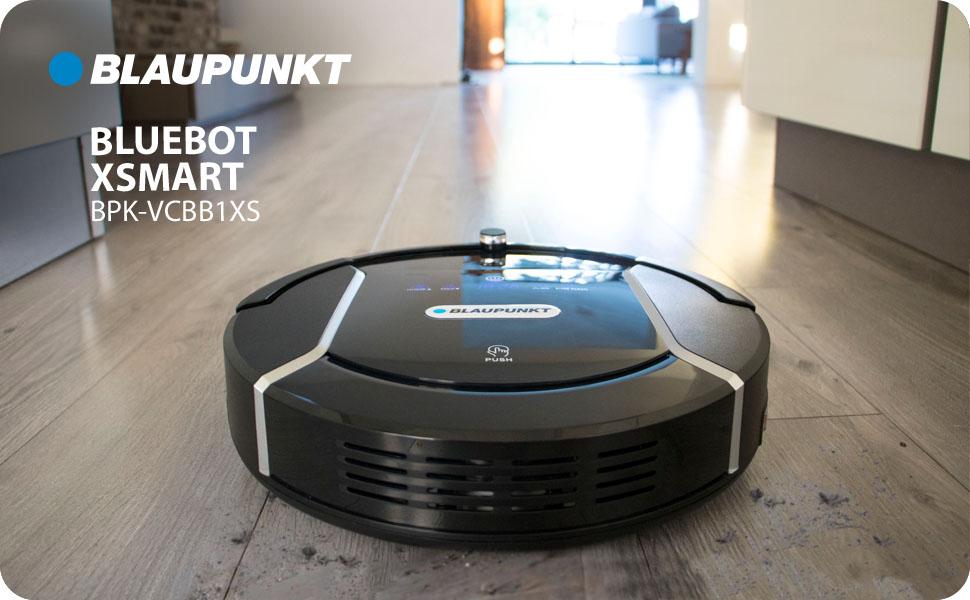 Blaupunkt Bluebot XSMART Robot Aspirateur Laveur 2 en 1