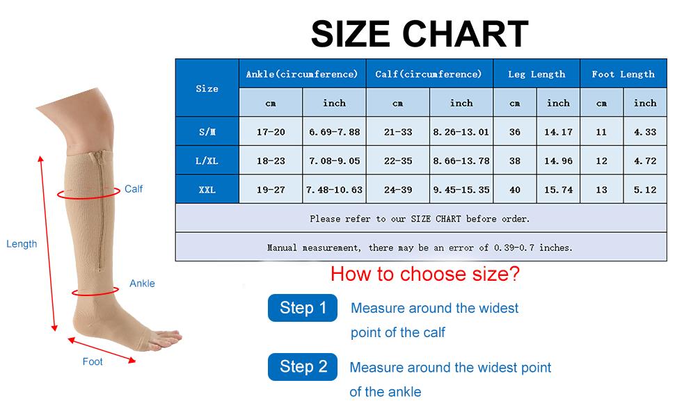 open toe compression socks