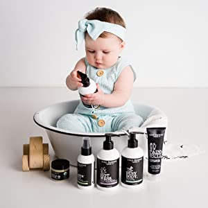 Baby Skincare babycare plant-based products