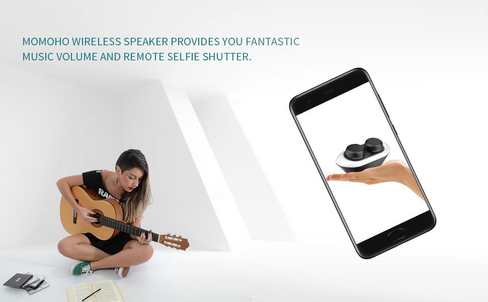 Momoho Bluetooth Speaker TWS Version BTS0052 Picture 1