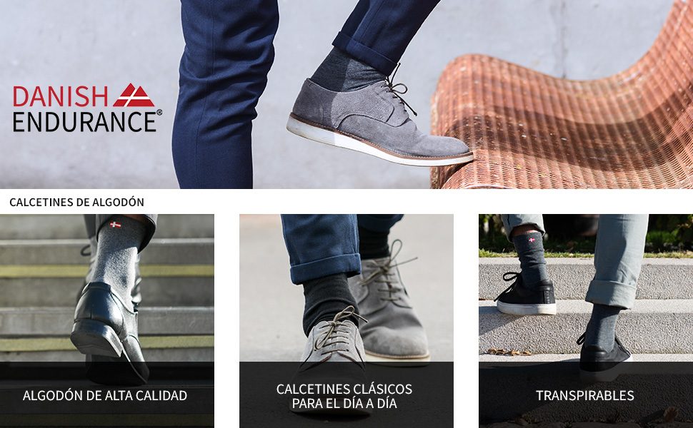 Tama/ño EU 39-42 Calcetines Cl/ásicos Color Negro Gris Azul 6 Pares EB Prime Calcetines de Algod/ón para Hombres y Mujeres Transpirables. C/ómodos