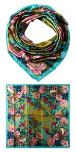 """35"""" Polyester Square Scarves"""