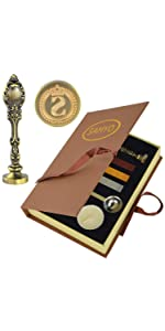 Wax Seal Sealing Stamp Bronze