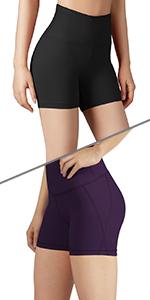 Tummy Control Yoga shorts