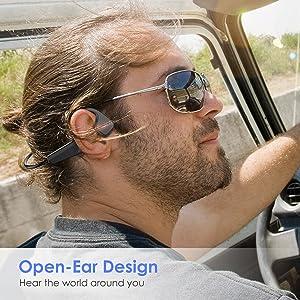 Bone Conduction Headphones Bluetooth 5.0 Wireless