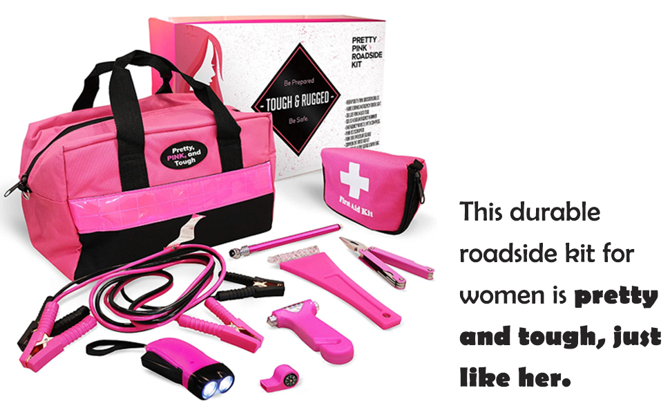 cables car kit women pink accesories emergency teens winter survival hot accessories stuff truck