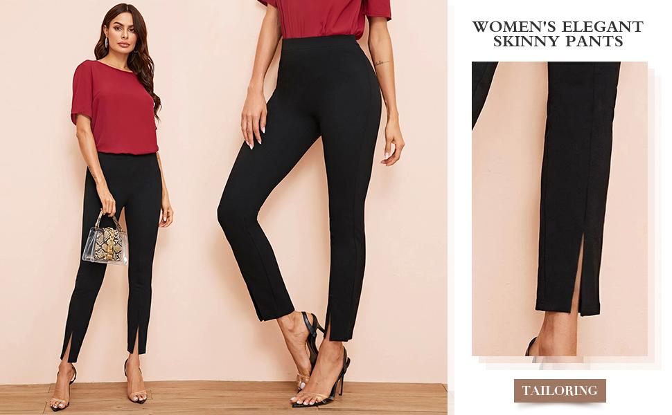 Women's Elegant Skinny Pants