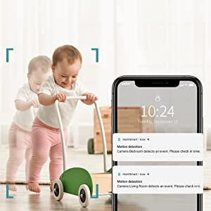 4_HeimVision Mate A1 Smart Security Camera_Message Alerts