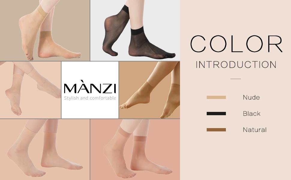 Women's Ankle High Sheer Socks