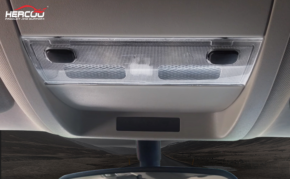 2009 2010 2011 2012 2013 2014 Ford F150 Overhead Console with Map Lights Storage