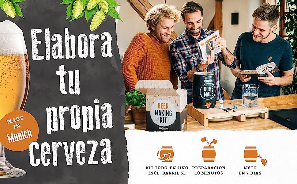 Braufässchen Beer Making Kits