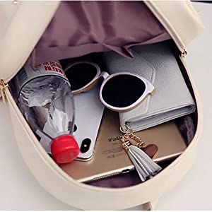 women bagpack of 3 pieces