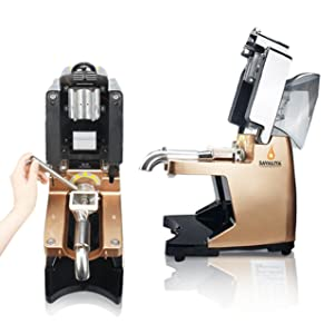 Oil Press Machine Auto Oil Presser for Both Hot Raw Material Oil