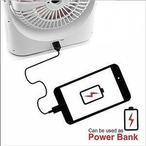 EMERGENCY usb fan home rechargeable portable office desk battery light far office speed light fan wi