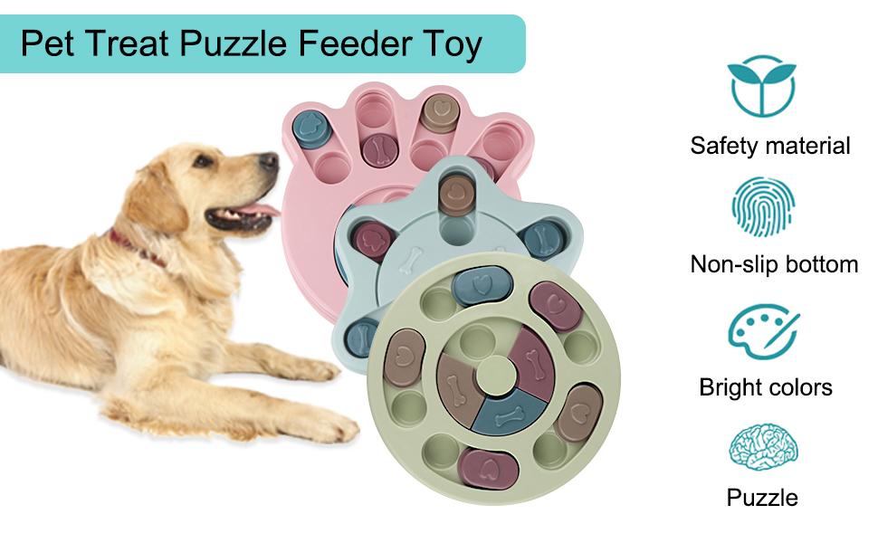 Pet Treat Puzzle Feeder Toy