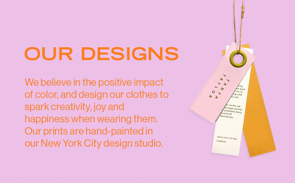 Tanya Taylor, Tanya, Taylor, NYC, designer, color, creativity, prints, hand-painted, painted, joy
