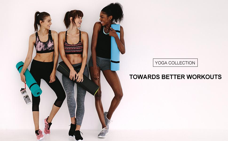 BALEAF Womens 5 Seamless High Waisted Yoga Workout Shorts w Hidden Pocket Tummy Control Navy Blue S