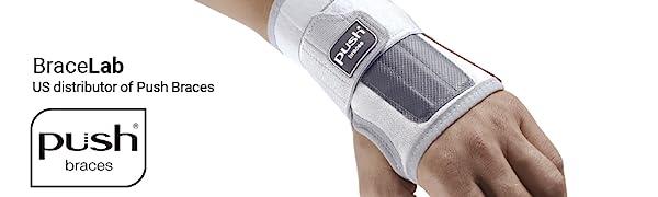 Push med Wrist Brace Sprains Strains Tendinitis Arthritis