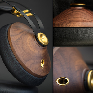 Meze Audio, Meze Headphones, Meze 99 Classics Walnut Gold , Wooden Earcups, High Quality , Music