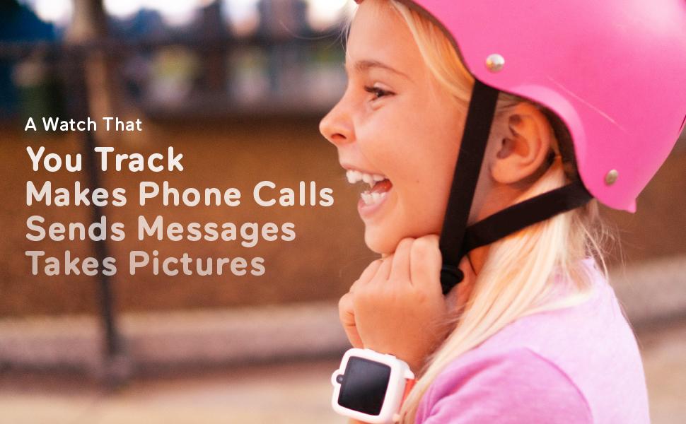 TickTalk 3 kids smart watch phone with GPS locator