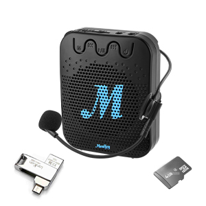 Voice Amplifier with microphone headset