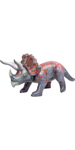 """63"""" Triceratops Inflatable Dinosaur Toy"""