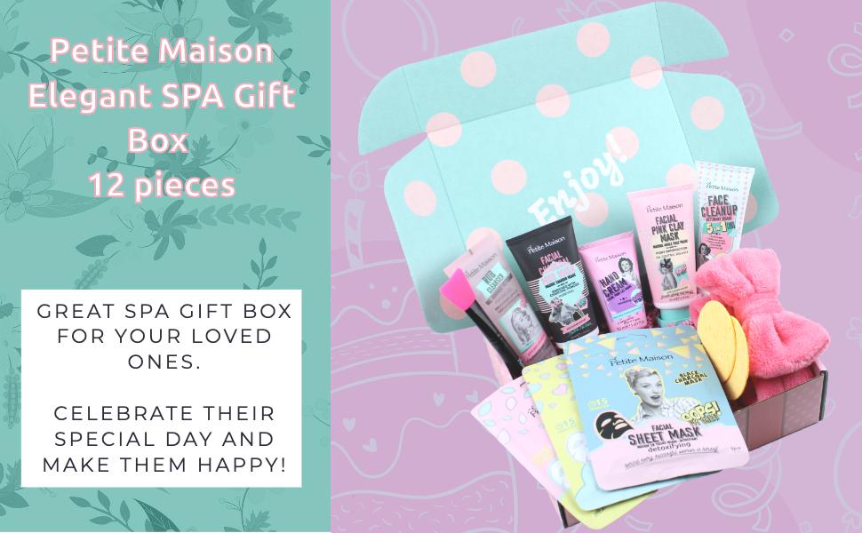 Petite Maison 18 Pieces Elegant SPA Gift Box