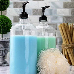 cornucopia bottles jars canisters storage glass plastic metal containers pumps spray lids functional